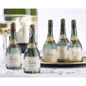Burbujeros botella cava para boda