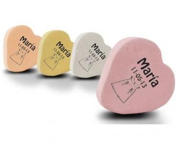 Caramelos de Fruta en Forma de Corazón Personalizables