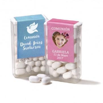 Caramelos Tic Tac de menta en dispensadora para Comunión