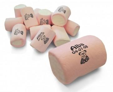 Esponjitas redondas con nombre