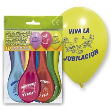 Globos Viva la Jubilación - Decoración fiestas