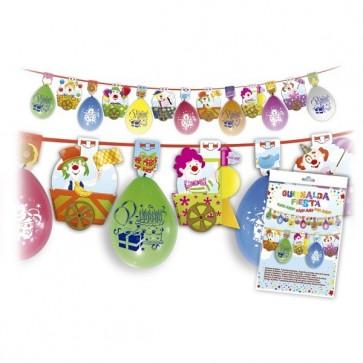 Guirnalda de globos - Decoración cumpleaños