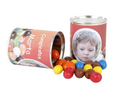 Cacahuetes cubiertos de Chocolate de colores para Comunión