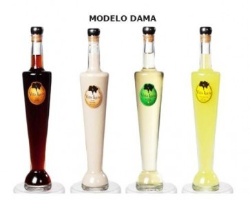 Licor botella Paris para Comunión