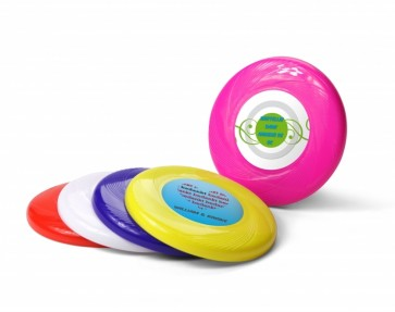 Detalle de bautizo - mini frisbee