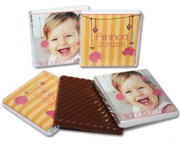 Napolitanas de chocolate para cumpleaños
