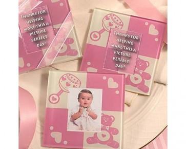 Regalos de Bautizo - Set posavasos bebé