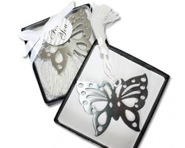 Regalos de Bautizo - Punto libro mariposa