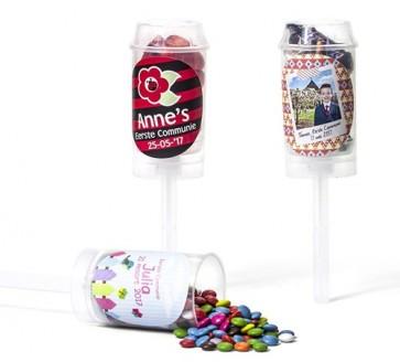 Push up pops con chocolate - Detalles de Comunión