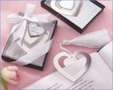 recuerdos de boda - punto lectura corazon