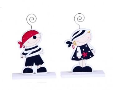 regalos de boda - pinza portafoto piratas