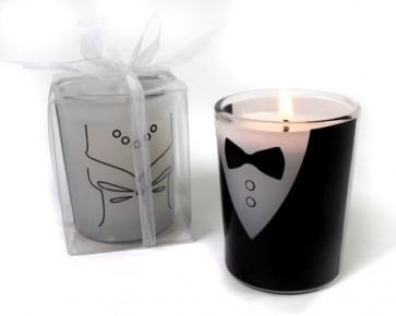 regalos de boda - vela luz del amor - novio - novia