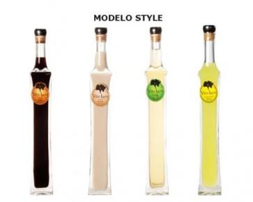 Recuerdos para Bautizo - Botella de licor Londres