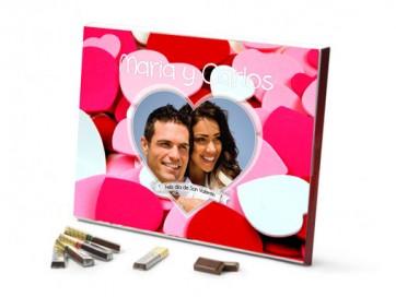 Regalo día San Valentín - chocolate merci