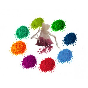 arroz colores - detalles para boda