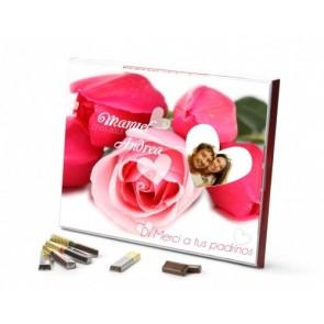 Caja personalizada con 20 chocolatinas Merci