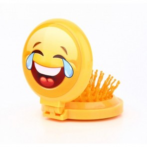 cepillo espejo emoticonos para comunion