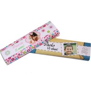 Chocolatina con Envoltorio Personalizado para Cumpleaños