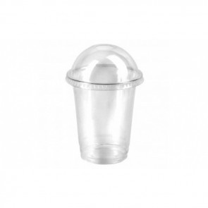 Copa de plástico con tapa