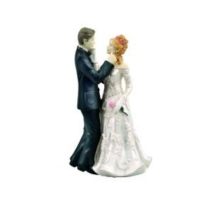 regalos de boda - figura tarta nupcial pastel mirandose