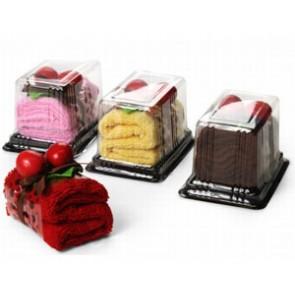 Toalla en forma de pastelito - Regalos de cumpleaños