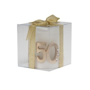 aniversario  de boda - vela 50 aniversario