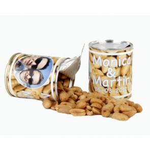 Latita de cacahuetes personalizada