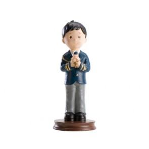 detalle de comunion - Figura tarta - niño marinero