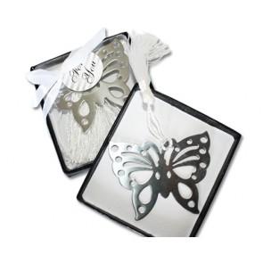 Regalos de Comunión - Punto libro mariposa