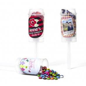 Push up pops - detalles de bautizo