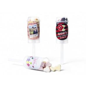 Push up pops con caramelos - Detalles de cumpleaños