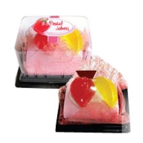 detalles de boda - jabon tronco pastel fresa