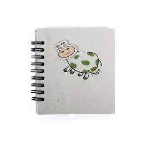 Recuerdos de Bautizo- libretita animal vaca