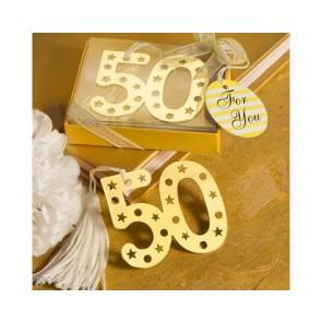 recuerdos de boda - punto lectura 50 aniversario bodas de oro