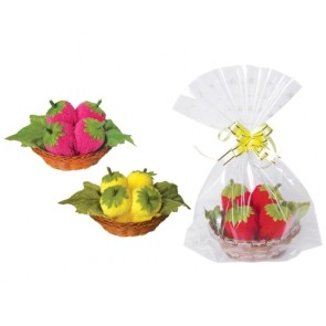 detalles de boda - toalla cestita de fresas