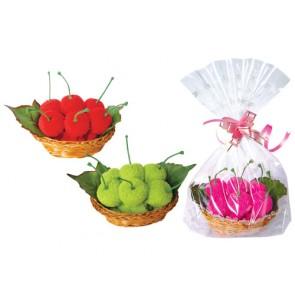 regalos de boda - cestita toalla cerezas