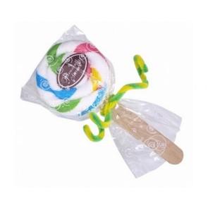 detalles de boda - toalla dulce piruleta