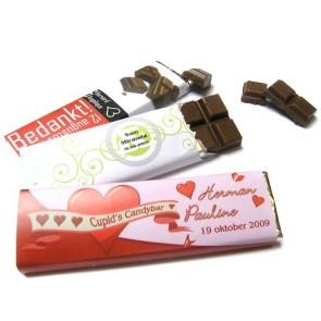 Tableta de Chocolate Personalizada para Boda