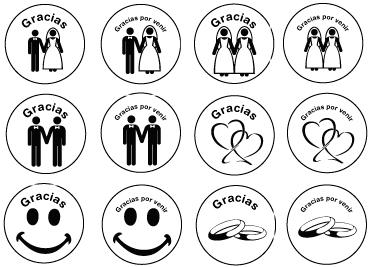 ejemplos dibujos mentas boda