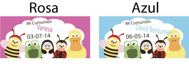 ejemplos tarjeta gomas